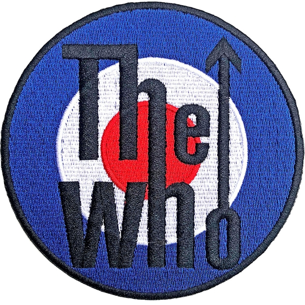 The Who - Target Logo Bordered Standard Patch