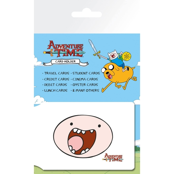 Adventure Time - Faces Travel Pass Card Holder