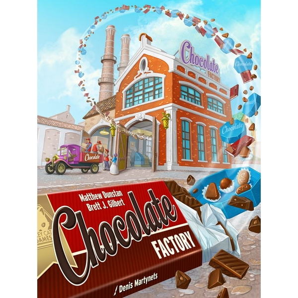 Chocolate Factory Board Game