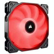 Corsair AF High Airflow Low Noise Red LED Cooling Fan - 140mm