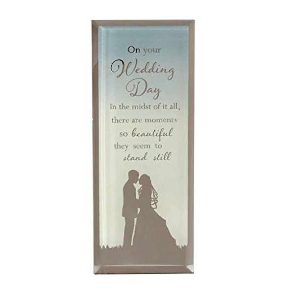 Reflections Of The Heart Wedding Standing Plaque