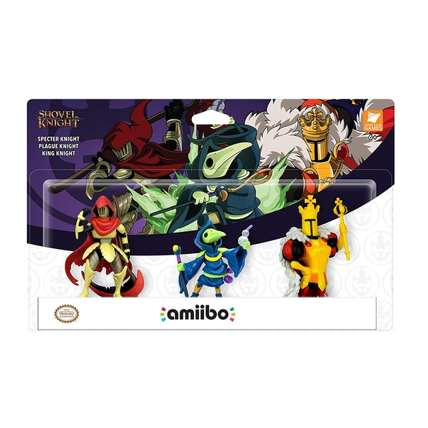 Specter, Plague & King Knight Amiibo (Shovel Knight Treasure Trove - Set of 3) For Nintendo Switch & 3DS - Image 1