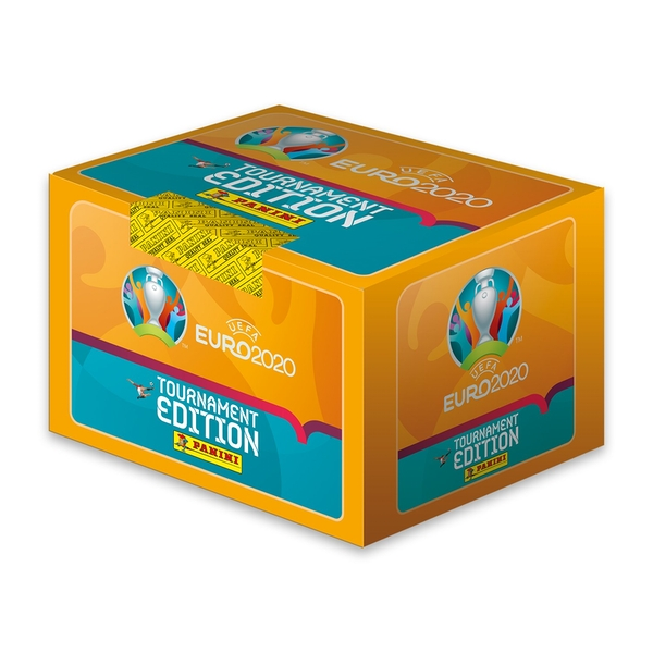 UEFA Euro 2020/21 Sticker Collection Tournament Edition Booster Box (100 packs)