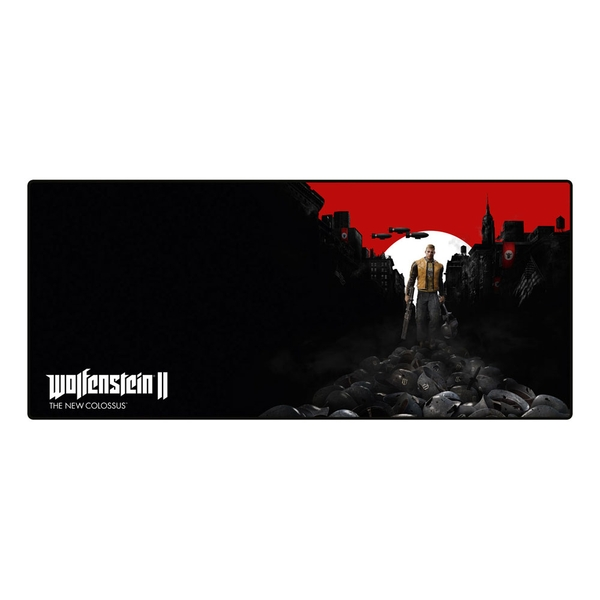 Wolfenstein II - The New Colossus Trail Of The Dead Oversize Mousepad (800 x 350 x 4mm)