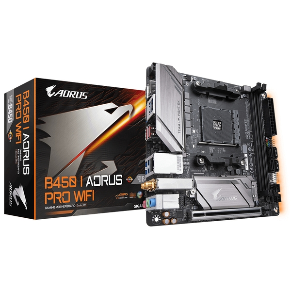 Gigabyte B450 I AORUS PRO WIFI motherboard Socket AM4 mini ATX AMD B450