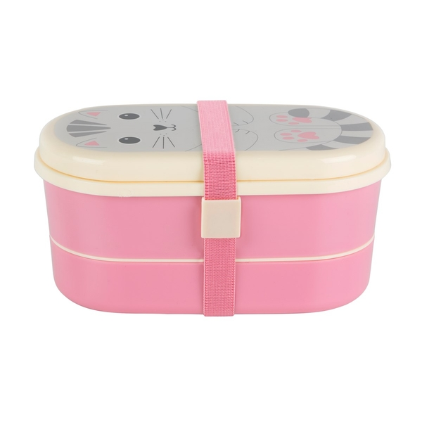 Sass & Belle Nori Cat Kawaii Friend Bento Box