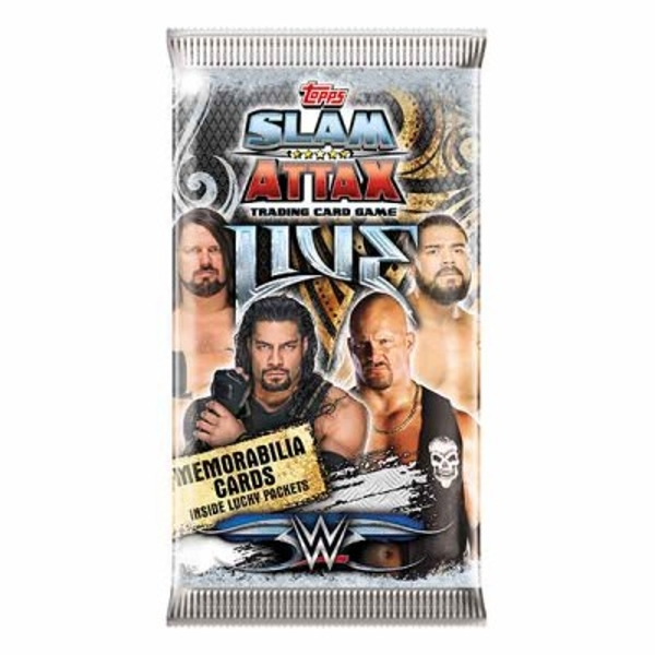 WWE Slam Attax Live Trading Card Collection (36 Packs)