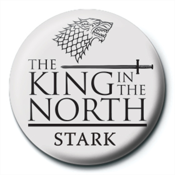 Game of Thrones - King in the North Badge