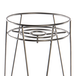 Metal Flower Pot Stand Silver | M&W - Image 5