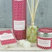 Rhubarb & Raspberry (Polka Dot Collection) Tin Candle - Image 2