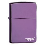 Zippo Logo Regular Abyss Windproof Lighter