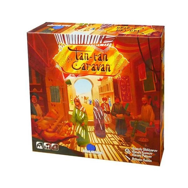 Tan Tan Caravan Board Game