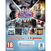 Sony PlayStation Vita Action Mega Pack + 8GB Memory Card PS Vita