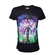 Nintendo Legend of Zelda Men's Majora's Mask Dark Link Large T-Shirt