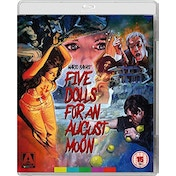 Five Dolls For An August Moon Blu-Ray + DVD