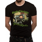 Good Charlotte - Young And Hopeless Men's X-Large T-Shirt - Black