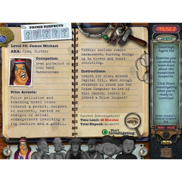 Mystery Case Files Prime Suspects Game PC - Image 3