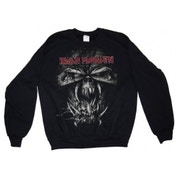 Iron Maiden FF Eddie Vtg Men's Blk Sweatshirt: Small