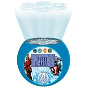 Lexibook RL975AV Avengers Radio with Projector Alarm Clock