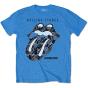 The Rolling Stones - Steel Wheels Men's Large T-Shirt - Black