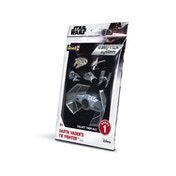 Darth Vader TIE Fighter Star Wars 1:121 Scale Easy Click Revell Model Kit Bag