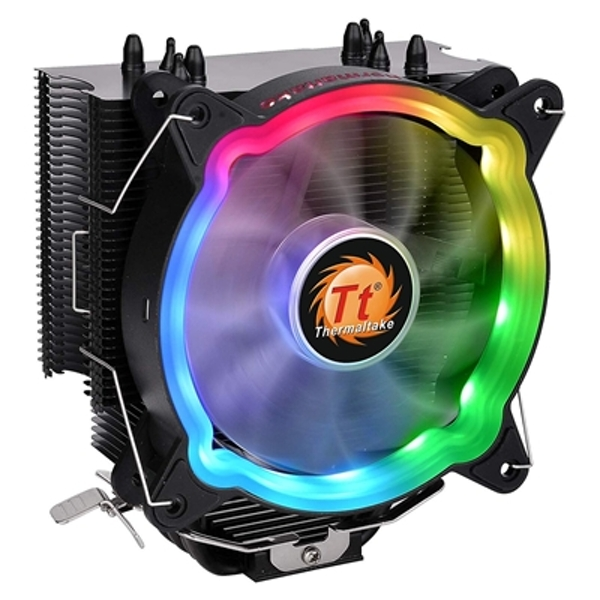 Thermaltake UX200 Universal Socket 120mm PWM 1500RPM Addressable RGB LED Fan CPU Cooler