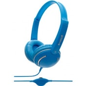 Groov-e GV897BE Streetz Stereo Headphones with Volume Control Blue
