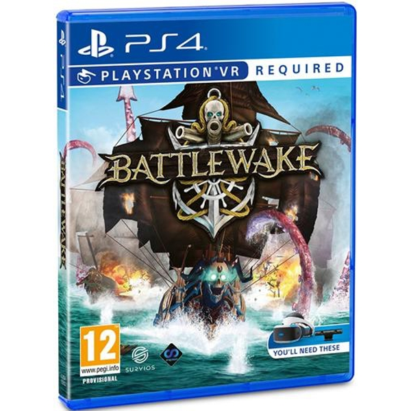 Battlewake PS4 Game (PSVR Required)
