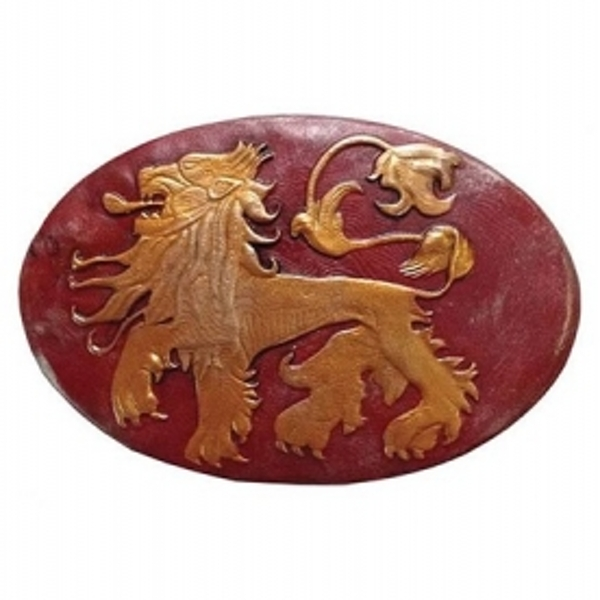 Game of Thrones Lannister Lion Shield Pin