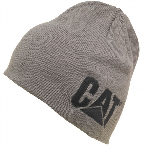 d0020602 Hey! Stay with us... CAT Caterpillar Beanie Grey