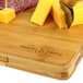 Bamboo Cheese Board Serving Platter With Knife Set | M&W - Image 6