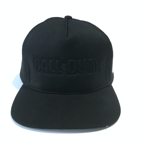 Call Of Duty - Applique Rubber Badge Unisex One Size Snapback Cap - Black
