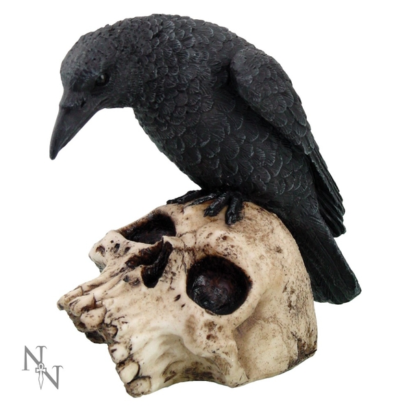 Ravens Remains Figurine