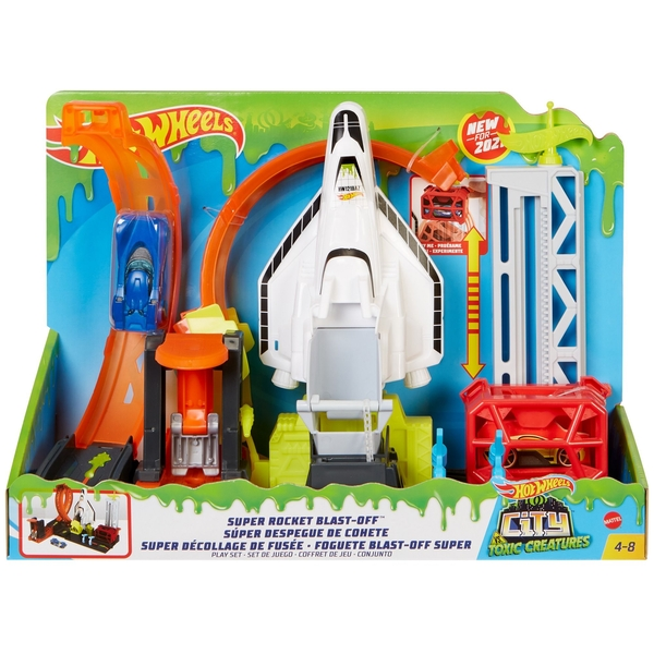 Hot Wheels - City Super Space Shuttle Playset