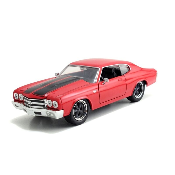 1969 Chevy Chevelle SS Red (Fast & Furious) Jada Diecast Model