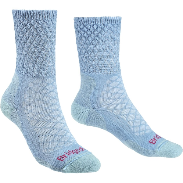 Bridgedale HIKE Lightweight Merino Comfort Women's - Small Powder Blue