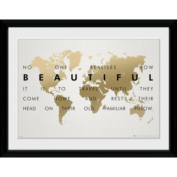 Travel Framed Collector Print