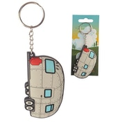 Streamline Caravan (Pack Of 6) PVC Keyring