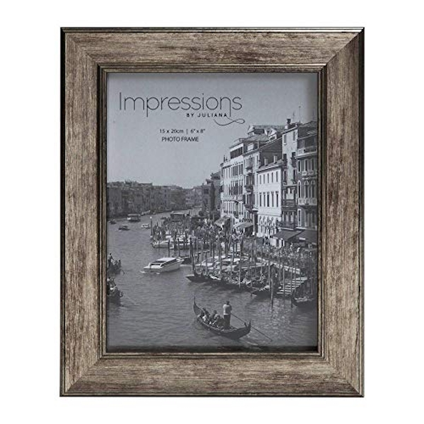 """6"""" x 8"""" - Impressions Tarnished Pewter Look Photo Frame"""