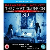Paranormal Activity: The Ghost Dimension Blu-ray 3D   Blu-ray