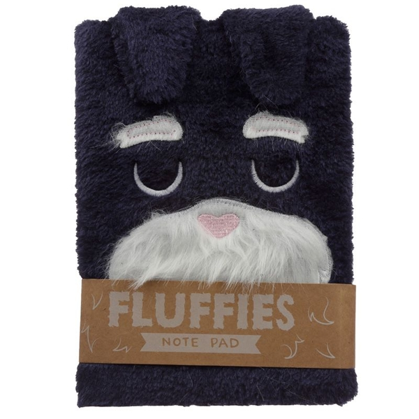 Dog Squad Plush Fluffies Notepad/Notebook