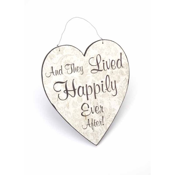 Happily Ever After Hanging Heart By Heaven Sends