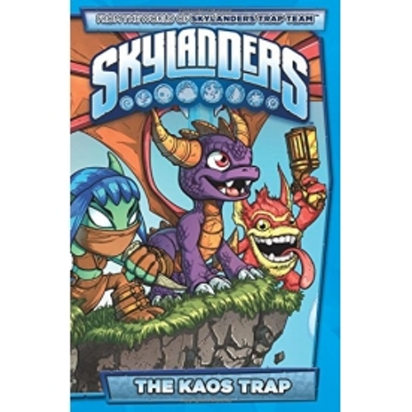 Skylanders The Kaos Trap Hardcover - Image 1