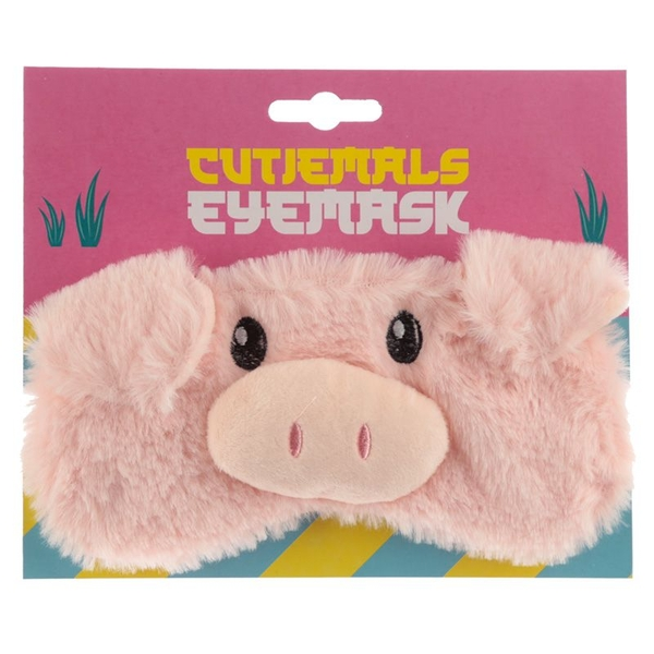 Plush Pig Eye Mask