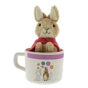 Beatrix Potter Flopsy Organic Mug and Toy Gift Set
