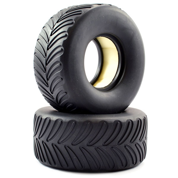 Ftx Mighty Thunder Tyres W/Foam (Pr)