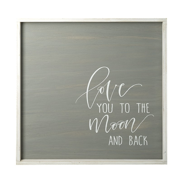 Love You To The Moon Sign By Heaven Sends