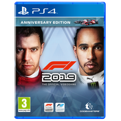 F1 2019 Anniversary Edition PS4 Game