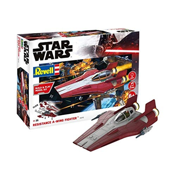 Resistance A-Wing Fighter Red (Build & Play) Revell Model Kit