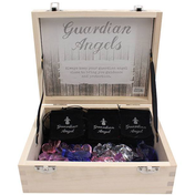 Box of 24 Glass Guardian Angel